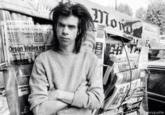 Nick Cave  paris 1985 photo Youri Lenquette
