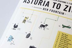 How magazine - Cover illustration. Astoria to Zion