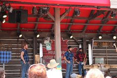 Disney Travel Tips and Hints: Canadian Lumberjack Show - Epcot