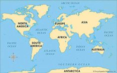 World map of continents and oceans yahoo image search results world map of continents and oceans yahoo image search results gumiabroncs Image collections
