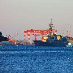 【iga0202】さんのInstagramをピンしています。 《2017.1.27 護衛艦いかづち入港 #海上自衛隊 #自衛隊 #護衛艦 #横須賀 #海 #船 #japan #写真好きな人と繋がりたい》