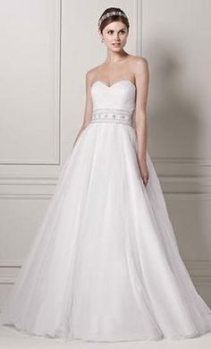 Oleg Cassini CPK440: buy this dress for a fraction of the salon price on PreOwnedWeddingDresses.com