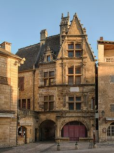 Famous House in Sarlat-la-Canéda, France
