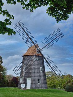 Old Hook Mill, East Hampton, Long Island.