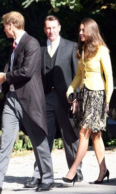 September 6, 2008, Prince William and Kate Middleton flew to Salzburg to attend the nuptials of Chiara Hunt - the sister of a mutual friend of the couple's from St. Andrews University.