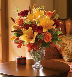 Fall Seasonal bouquet... Love!