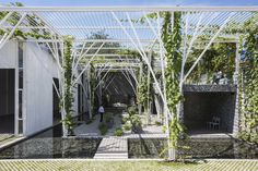 Vegetable Trellis  / Cong Sinh Architects