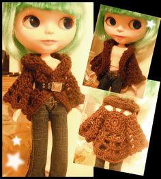 Blythe Crochet Pattern - Uptown cardigan. www.sewtown.etsy.com  www.ravelry.com/stores/sewtown