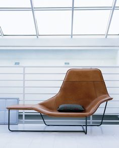 Area B/D: Lama Lounge Chair by Zanotta / The Manta chair is $4586-7666 Cantoni in Dallas