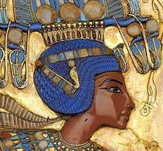 The detail in this piece is amazing. The skill required to created the delicate folds of clothing and beads on the collars is incredible. The colours are bright and almost bring the image to life and the image as a whole is a testament to the beauty, skill and power of Egyptian art. It was made to last for eternity and it has.