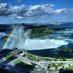 The falls look better from the air!