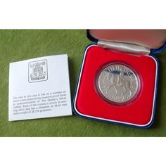 1977 Royal Mint Queen Elizabeth II Sterling Silver Jubilee Proof Crown + Box COA Listing in the Crowns,United Kingdom,Coins,Coins & Banknotes Category on eBid United Kingdom | 143197466