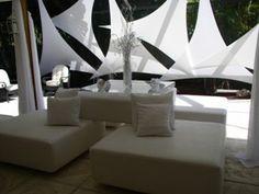 Beautiful Geometric Shade Sails | Premier Table Linens