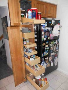 Roll Out Pantry Shelves - Decor Ideas