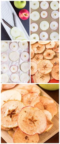 Baked Cinnamon Sugar Apple Chips Recipe