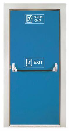 Yangın Kapıları Teknik Özellikleri BS 476/22 Sertifkalı (Chilt RF/06145 England) F90-AB, F120-AB dakika sınıflarına uygunluk 90 - 120 dakika yangına dayanıklı çeşitler Güçlendirilmiş kanat (çatlamaz, duman geçirmez) Dört tarafı kapalı kasa Yaylı menteşe (Hollanda DIN 18272) Standart Fildişi RAL 9001 Renk Opsiyonel diğer renkler