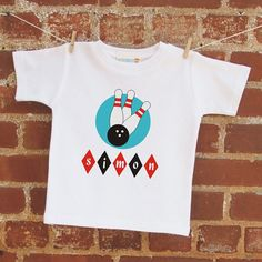 Personalized bowling tee - MyPersonalizedTshirt.etsy.com