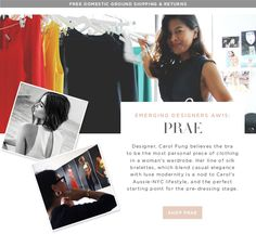 Meet Prae: Emerging Designer class of AW15