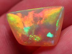 Huge Super Bright Natural Welo Opal Storm Pattern by Paleospark