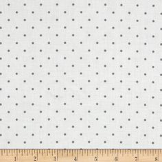 Cruzin' Dot Grey fabric