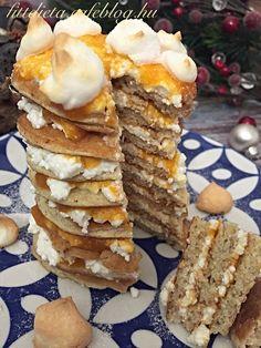 Diétás Rákóczi túrós palacsinta Pancakes, Breakfast, Food, Morning Coffee, Essen, Pancake, Meals, Yemek, Eten