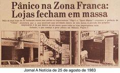 Jornal A Notícia - 25/08/1983