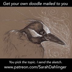 Now that my patrons have these in their hands I'm going to show off the doodles from January!  Herons are awesome. This is what I was drawing when the creeper was filming me dance drawing. What can I say; the topic and song was good.   If you would  like to get one of your very own sign up to be my patron and I'll send you things that please you.   SFW only Thanks so much for the support guys.   #heron #doodle #doodleaday #sketch #nightheron #bicpen #drawing #museumofscience #boston…