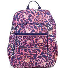 Vera Bradley Katalina Pink Campus Tech Backpack Backpack Bags c206fb3352ad9