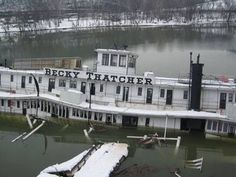A Requiem for the Becky by Keith Norrington, Curator, Howard Steamboat Museum Steam Boats, Small Fountains, Kansas City Missouri, Paddle Boat, Left Alone, World's Fair, Power Boats, Abandoned Places, Great Places