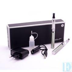 Een eGo-T Elektrisch roken starterset wordt bij www.E-Rokershop.nl altijd geleverd met 2 batterijen, 2 clearomizer en met 1 gratis flesje vloeistof. De eGo-T batterij met de CE4 verdamper is voor iedere damper geschikt. Zowel voor de beginnende als de gevorderde. Deze versie wordt geleverd in een mooie bewaardoos en in de batterijkleuren: roestvrij staal, zwart, wit, roze