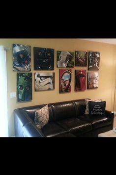 Star Wars canvas art