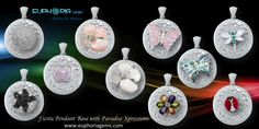 Fiesta Pendant base with Paradise Xpressions