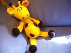 Háčkovaná žirafka