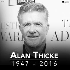 Damn…#RIP Alan Thicke! #GrowingPains