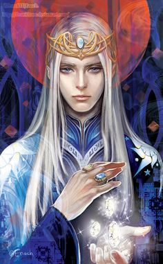 Elwe.Fan artfor Silmarillion by Tolkien This picture was submitted to Tolkien's event.