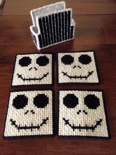 Jack Skellington Coaster Set