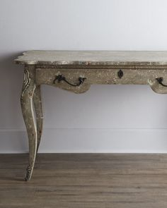 """""""Aubree"""" Console at Horchow.  This would be a beautiful entry way table"""