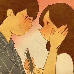 """♥  IT'S GOING TO BE OKAY ~  """"We won't be apart for very long...""""  ♥   by Puuung at www.facebook.com/puuung1  ♥"""
