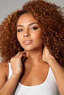 .Love the color and her curls