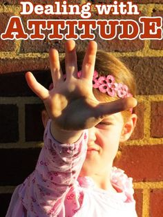 Positive Parenting - Dealing with Attitude: Can a small shift in our response help children manage their emotions more positively? I'm throwing this in the mix of how to deal with d's tude Parenting Articles, Parenting Advice, Kids And Parenting, Peaceful Parenting, Parental, Discipline, Kids Behavior, Preschool Behavior, How To Pose