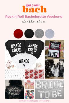 Join the wild side for a legendary bachelorette party with your groupies. Cocktail Gifts, Bachelorette Party Themes, Bridal Gifts, Your Girl, Leather And Lace, Night Club, Rock N Roll, Affair, Join