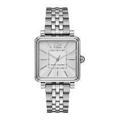 Marc Jacobs Women's Vic Stainless Steel Bracelet Watch In Silver Marc Jacobs 時計, Marc Jacobs Jewelry, Marc Jacobs Watch, Stainless Steel Jewelry, Stainless Steel Watch, Women's Dress Watches, Wrist Watches, Hand Watch, Bling