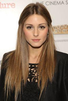 Olivia Polermo - love the hair color