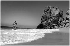 Portfolio - Pittsburgh Wedding Photographer - Silverlight Photography Studios - Engagement Photo - Cabo San Lucas - Lovers Beach