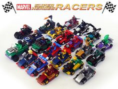 Super heroes racers