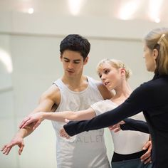 Robbins in rehearsal  Sarah Lamb and Federico Bonelli rehearsing Jerome Robbins's In The Night, which returns to our stage next month. Robbins rivals George Balanchine for the title of America's greatest 20th-century choreographer and created ballets as well as the musicals West Side Story and Fiddler on the Roof.  If you're a fan, which Robbins works would you recommend to newcomers?  #royaloperahouse #royalballet #ballet #dance #ballerina #rehearsal #theatre #theater #london #coventgarden