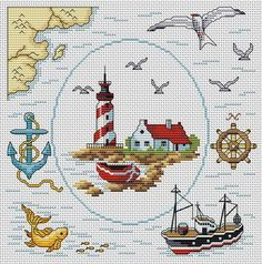 Treasure Map. This pattern is from a site that has really easy to download embroidery patterns for free.                                                  It's http://cross-stitchers-club.com/?code_avantage=uucqid.   Plus, if you click on this link, you'll automatically receive a gift when you subscribe. I use this site all the time; there are hundreds of all different types of patterns, and there are new patterns added everyday. It's really worth a look.