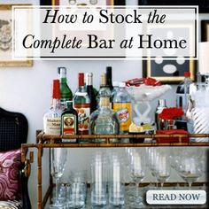 Stock the Perfect Bar
