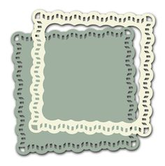 Lace Trimmed Square