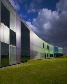 Laban Centre by Herzog & De Meuron in Deptford, London